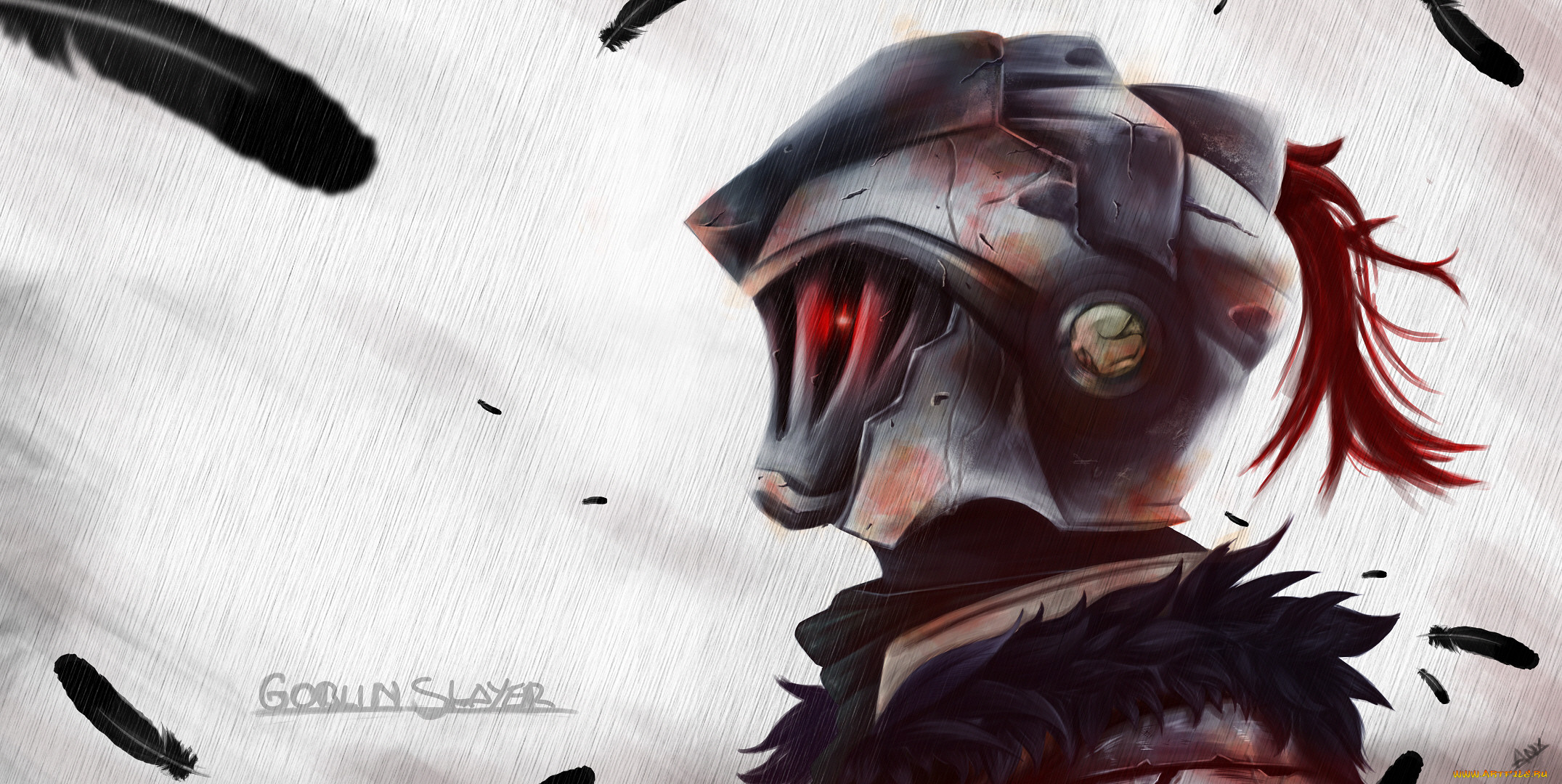 аниме, goblin slayer, рыцарь